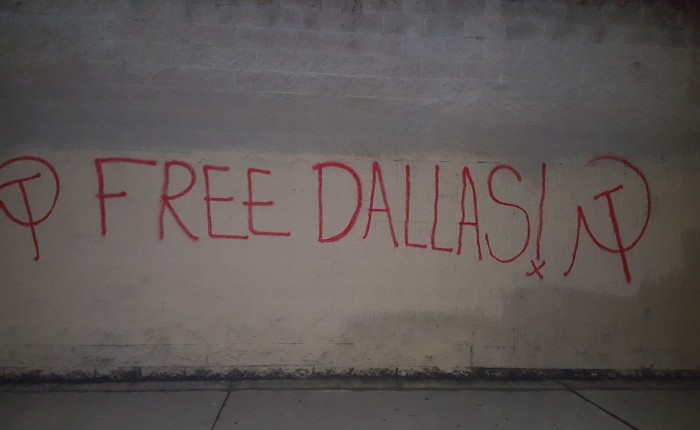 Free Dallas: our fire cannot be extinguished
