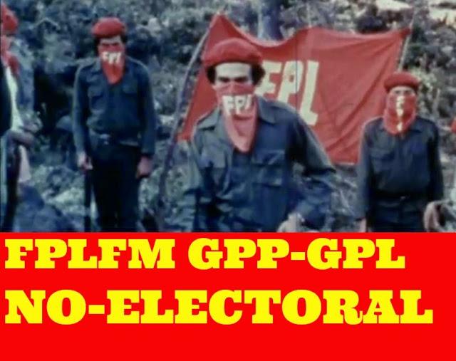 FPLFM GPP-GPL NO ELECTORAL (1) PARTIDO COMUNISTA DE NUEVO TIPO 2015 (1)
