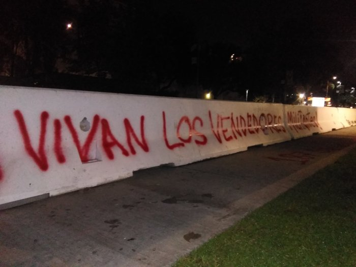 Long live the UDPR! Long live the militantvendors!